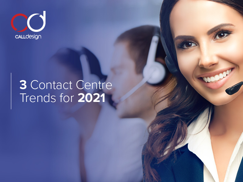 Blog image for contact centre trends for 2021